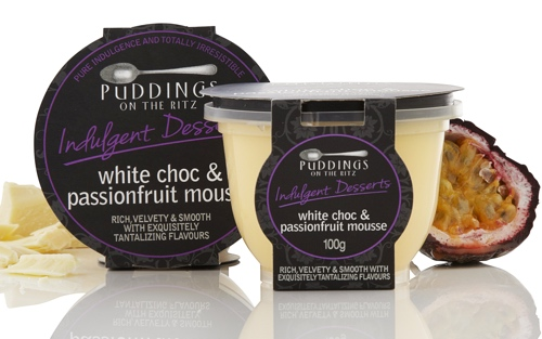 mousse white chocolate passionfruit the gourmet merchant